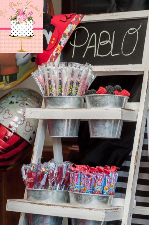La dulce tentaci n de ana tartas de cumplea os cupcakes for Mesas dulces cumpleanos
